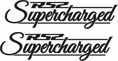 "Picture of Mini  ""R52 Supercharged"" Decals / Stickers"