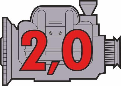 """Picture of Porsche 914 """"2,0"""" Engine general panel Decals /  Sticker"""