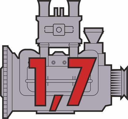 """Picture of Porsche 914 """"1,7"""" Engine general panel Decals /  Sticker"""