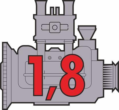 """Picture of Porsche 914 """"1,8"""" Engine general panel Decals /  Sticker"""