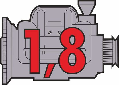 "Picture of Porsche 914 ""1,8"" Engine general panel Decals /  Sticker"