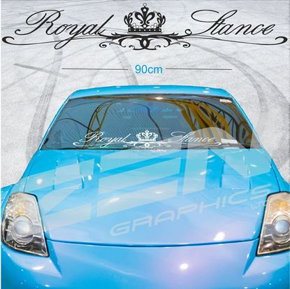"Picture of ""Royal Stance"" Screen Decal / Sticker"