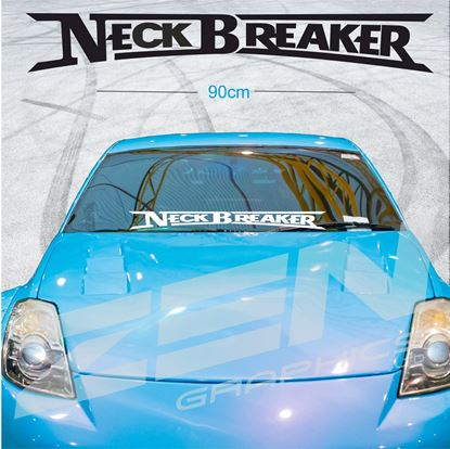 "Picture of ""Neck Breaker""Screen Decal / Sticker"