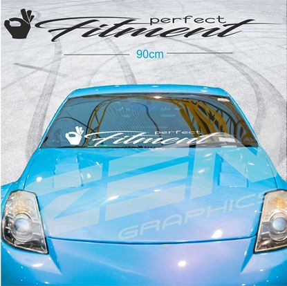 """Picture of """"Perfect Fitment"""" Screen Decals / Sticker"""