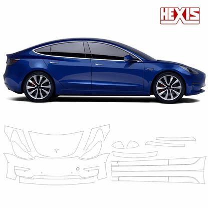 Picture of Tesla model 3 2018 Pre Cut PPF front & Side kit