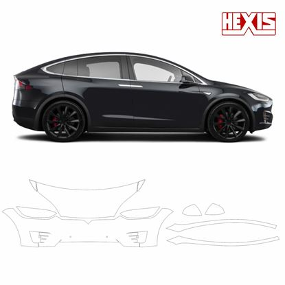 Picture of Tesla model 3X 2016 Pre Cut PPF Front kit