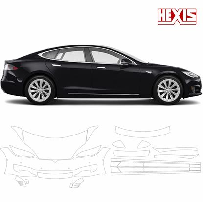 Picture of Tesla model 3X 2017 Pre Cut PPF Front & Side kit