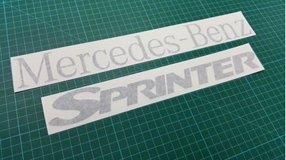 Picture of Mercedes Sprinter T1N (903) replacement rear Decals  / Stickers