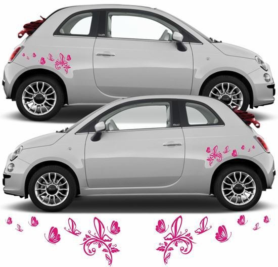 """Picture of """"Butterflies"""" Decals / Stickers"""