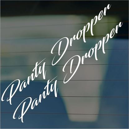 "Picture of JDM ""Panty Dropper""  Glass / Panel Decals / Stickers"