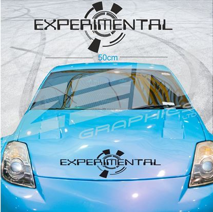 """Picture of """"Experimental"""" Screen Decal / Sticker"""