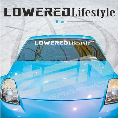 "Picture of ""Lowered Lifestyle"" Screen Decal / Sticker"