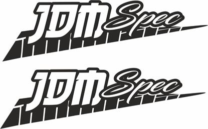 """Picture of """"JDM Spec"""" JDM Decals / Stickers"""