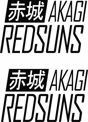 Picture of Akagi Redsuns Decals / Stickers