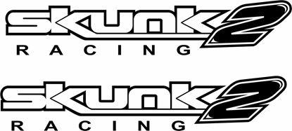 """Picture of """"Skunk 2 Racing"""" JDM Decals / Stickers"""