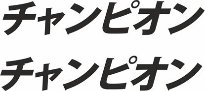 "Picture of ""Champion"" Japanese JDM Decals / Stickers"