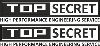 Picture of Top Secret Decals / Stickers