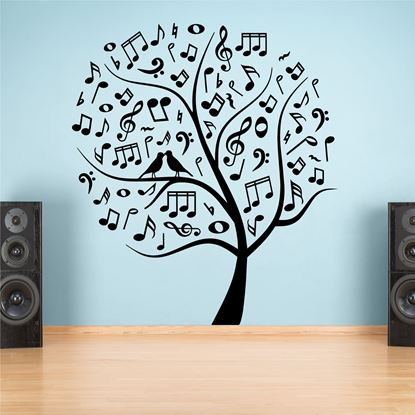 "Picture of ""Music note Tree""  Wall Art sticker"