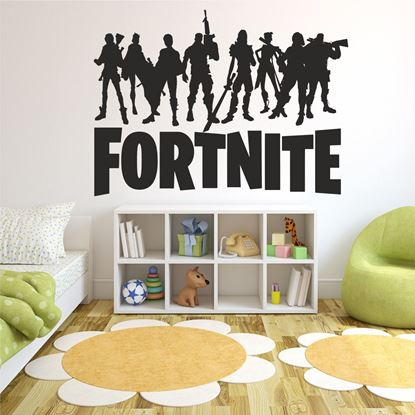 "Picture of ""Fortnite""  Wall Art sticker"