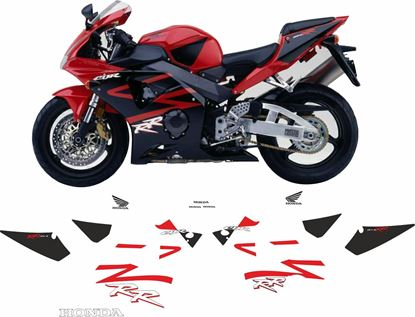 Picture of Honda CBR 954RR  2003 Full replacement Decals / Stickers