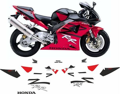 Picture of Honda CBR 954RR  2002 Full replacement Decals / Stickers
