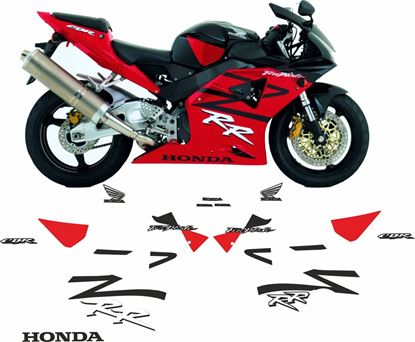 Picture of Honda CBR 954RR  2003 Fireblade Full replacement Decals / Stickers