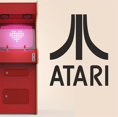"Picture of ""Atari"" Retro Wall Art sticker"