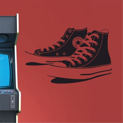 "Picture of ""Converse"" Retro Wall Art sticker"