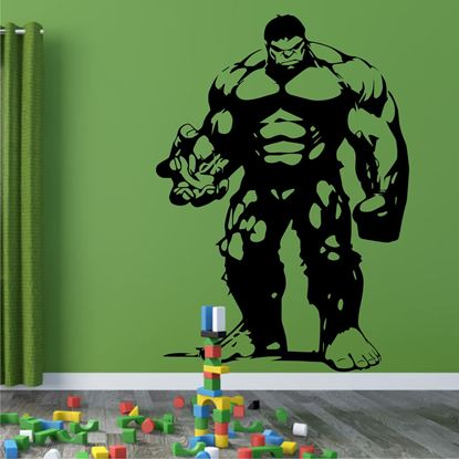 "Picture of ""Incredible Hulk""  Wall Art sticker"