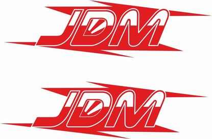 """Picture of """"JDM""""  Decals / Stickers"""