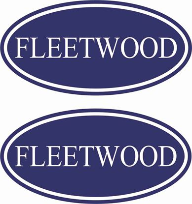 "Picture of ""Fleetwood""General panel  Decals  / Stickers"