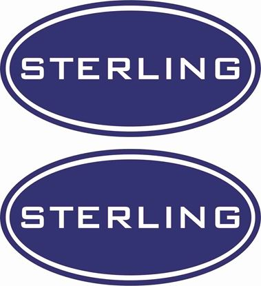 "Picture of ""Sterling""general panel Decals  / Stickers"