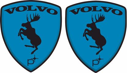 Picture of Volvo Custom Polestar wing Decals / Stickers