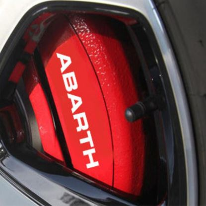 Picture of Fiat 500 / 595 Abarth Brake Caliper Decals  / Stickers