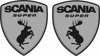 Picture of 1Scania Super Decals / Stickers
