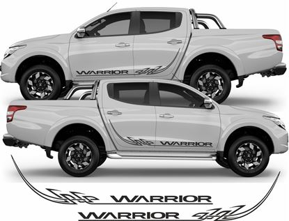 Picture of Mitsubishi L200 Tribal side Graphics / Stickers