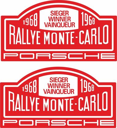 Picture of Rallye Monte Carlo general panel Decals /  Stickers