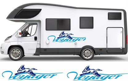 "Picture of ""Voyager"" side Camper Decals  / Stickers"