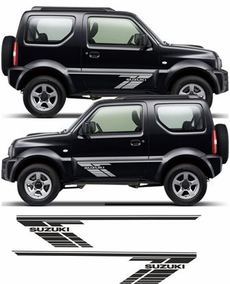 Picture of Suzuki Jimny SZ3 / SZ4 Side Stripes / Stickers