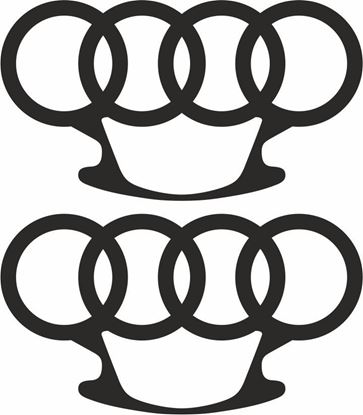 Picture of Audi  Knuckle Duster  Decals  / Stickers