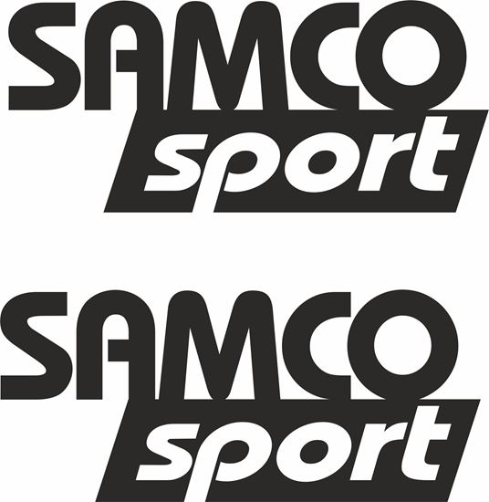"Picture of ""Samco Sport""  Decals / Stickers"
