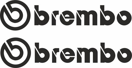 "Picture of ""Brembo""  Decals / Stickers"