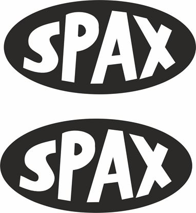"""Picture of """"Spax"""" Decals / Stickers"""
