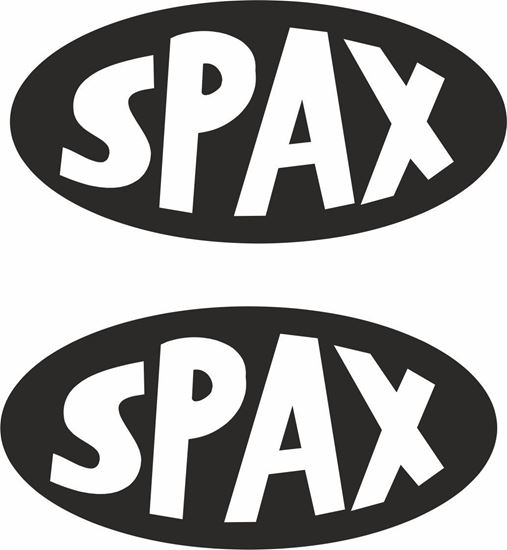 "Picture of ""Spax"" Decals / Stickers"