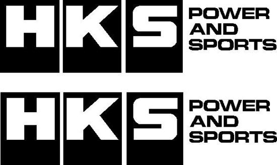 "Picture of ""HKS Power and Sports"" JDM Decals / Stickers"
