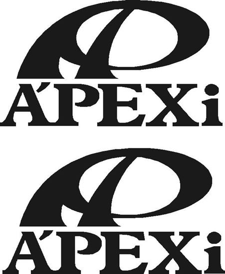 "Picture of ""Apexi""  JDM Decals / Stickers"