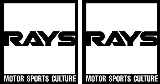 "Picture of ""Rays"" JDM Decals / Stickers"