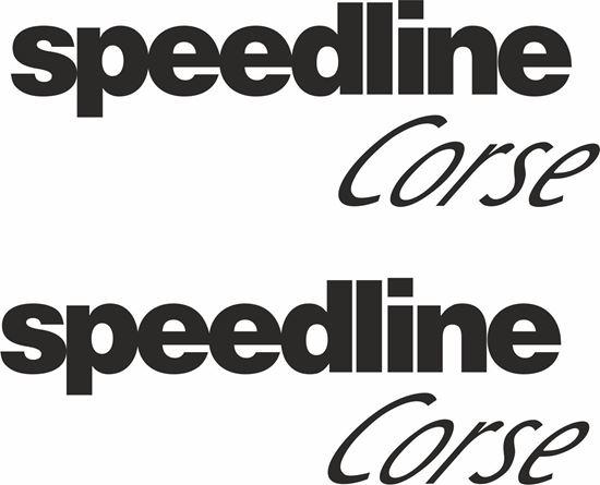 "Picture of ""Speedline Corse"" Decals / Stickers"