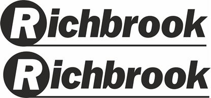 """Picture of """"Richbrook"""" Decals / Stickers"""