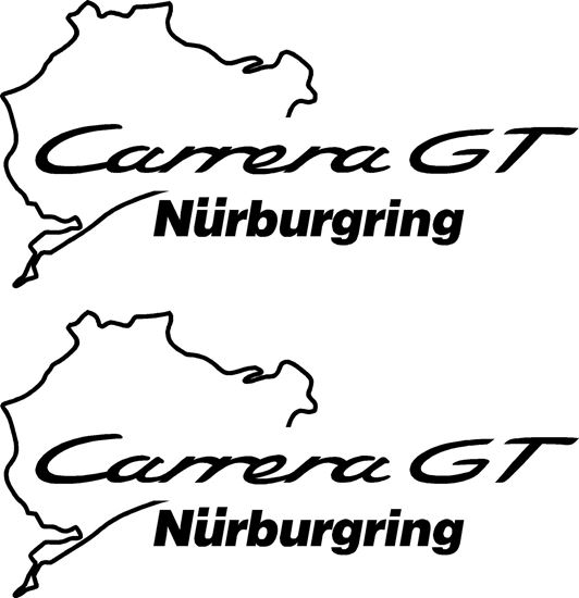 Picture of Porsche 911 Carrera GT Nurburgring Decals Stickers